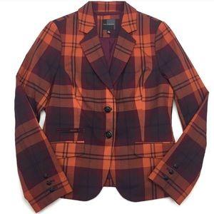 The Limited Plaid Blazer Jacket